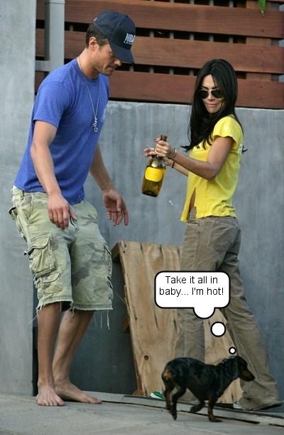 Vanessa Marcil and Josh Duhamel