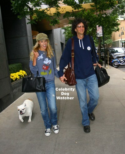 Howard Stern & Beth Ostrosky with Bianca